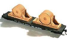 CHOOCH 7246 Heavy Cable Spools x 2 - HO/OO Model Trains