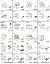 Crinmping Die Sets for AM-10/EM-6B2 each Order for 1 Set Die