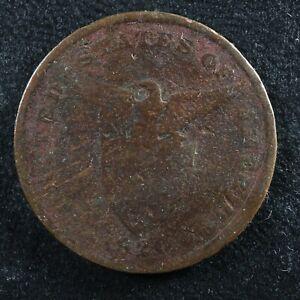 1 centavo 1920 Philippines KM#163 Bronze Filipinas U.S. Administration