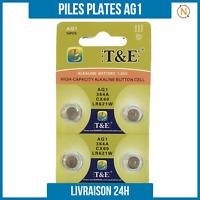 Piles Plate bouton 1,5V Alcaline AG1 0% Mercure