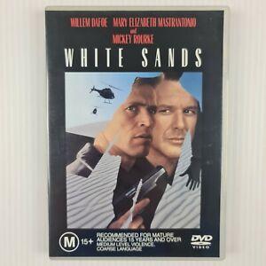 White Sands DVD - Willem Dafoe, Mickey Rourke - Region 4 - TRACKED POST