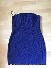 NWT Diane Von Furstenberg Blue Walker Dress sz. 12
