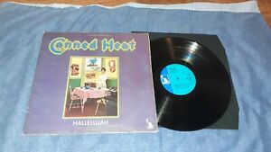 CANNED HEAT < hallelujah> 1969- FIRST UK  PRESS-STEREO-BLUE LIBERTY - EX+