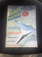 THE GAMES MACHINE 33 Luglio 1991 no zzap XENIA LUCASFILM SWITCHBLADE 2 TOKI F-29