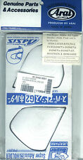 ARAI Holder-Set -  White G2-Type - laut Original-Bild Beschreibung