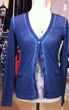 Shirtjacke in Jeansblau, Nice Connection, Gr.36