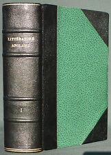 THE NORTON ANTHOLOGY OF ENGLISH LITERATURE - 16° 17° 18° CENTURY - 1968 TOME1