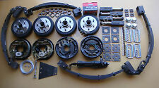 DIY Trailer Kit- 3.0Tonne ELECTRIC DRUM Brake Tandem Kit with STUB AXLES!