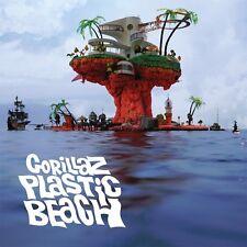 Gorillaz PLASTIC BEACH Gatefold NEW SEALED VINYL RECORD 2 LP
