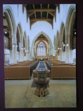 POSTCARD NORTHAMPTONSHIRE MARKET HARBOROUGH PARISH CHURCH (1)