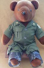 "Vintage Beara Trooper Teddy Bear North American Bear 21"" 1979"