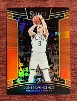 2018-19 Select DONTE DiVINCENZO #/199 Rookie Red Prizm Refractor #67 RC BUCKS🔥