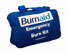 Burnaid First Aid Kit Medium Industrial in a Blue Soft Zippered Case