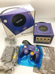【Boxed】Nintendo GameCube Console Controller Adapter Violet #0830A