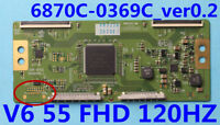 "LG 55LW6500-UA t-con board 6870C-0369C 6871L-2675E 6871L-2710A 6871L-2710C 55"""