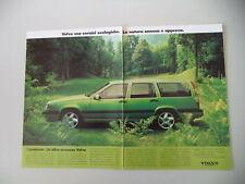 advertising Pubblicità 1995 VOLVO STATION WAGON