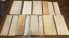 14pc Unfinished Rough Cut Pallet Cherry Wood Woodworking Crafts Signs #2