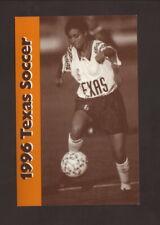 Texas Longhorns--1996 Soccer Pocket Schedule