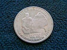 2009 S USA - ¼ Dollar -Washington Quarter -District of Columbia - Silver Coin