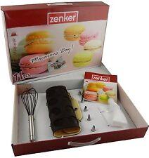 ZENKER SET 11 PEZZI MACARONS DAY ART 43060 FRUSTA SIL + STAMPO + SACCAPOCHE +