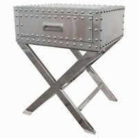 Aluminum Mirror Neil  Side and End Table