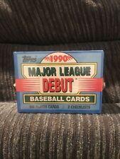 SEALED 1990 Topps Major League Debut 171 card Baseball Factory Set Frank Thomas