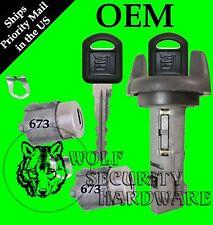 Chevy GMC Olds Isuzu 1998 Ignition Switch Cylinder & Door Lock Set 2 OEM GM Keys