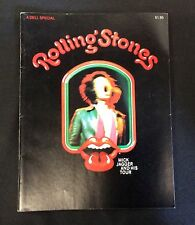 1970 DELL Rolling Stones Mick Jagger and Tour Magazine HTF Solid FN+ 6.