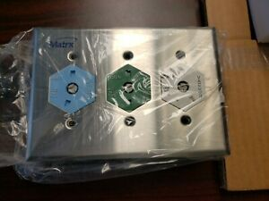 Matrx Ohio QC Triple Outlet Station for O2, N2O, Vac. #91309159 - Surface Mount