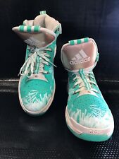 Adidas D Rose Boost 6 Mint Green Crystallized Sz 15 Us