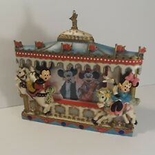 Mickey Minnie Mouse Merry Go Round 3D Picture Frame Horses Circus Disney Parks