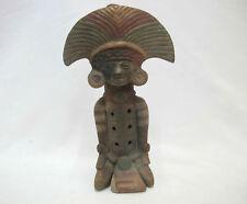South American Terracotta Clay Native Pottery Flute Ocarina Tribal Man