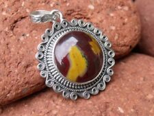 Handmade Mookaite Sterling Silver Fine Necklaces & Pendants
