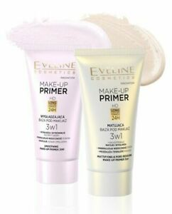 Eveline Make-up Primer Mattifiyng & Pore Reducing # Smoothing 30 ml