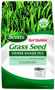 Scotts Turf Builder Grass Seed Dense Shade Mix 3 lbs.