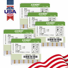 5box Dental Engine Use Rotary Heat Activated Canal Root Files 25mm 6pcspack Usa