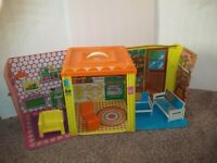 Vintage Barbie 1973 COUNTRY LIVING HOME with Furniture