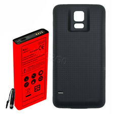 New Extended 8900mAh Battery+Black Cover For Samsung Galaxy S5 G900A i9600 Phone