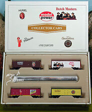 Set of Dutch Masters Cigar Train Box Cars N Scale 1:160 by Model Power