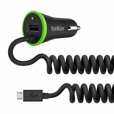 Belkin Boost Up 3.4A Universal In Car Charger with Micro USB Cable - Black