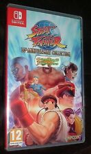 Street Fighter 30th Anniversary Collection Nintendo SWITCH NSW NEW SEALED