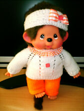 Kleidung für Monchichi (Gr. ca. 27,0 cm), Puppenkleidung, 3 teilig, neu, Ostern