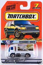 Matchbox MB 7 Scissors Truck Mint On Card 1999