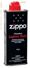 1x Original Genuine New 125ml Zippo Lighter Fluid Petrol Refill Fuel Quick Post