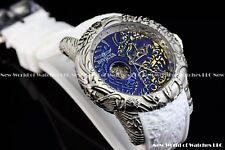 Invicta 50mm Hungarian Horntail Dragon Auto Open Heart Antique Sapphire Watch