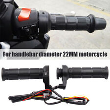 Universal Motorcycle Handlebar Electric Heated Handle Motorbike Heating 25W 12V