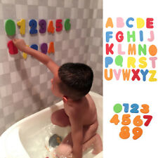 36pcs Alphanumeric Letters & Numbers Bath Toys Baby Bathing Foam Floating Toys