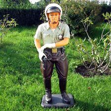 POLIZIST 100 cm USA Deko Figur AMERIKA Dekoration POLICE OFFICER WERBUNG FILM