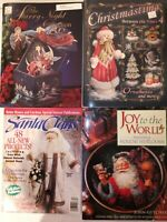 Lot Of 4 Tole Painting Folk Art Christmas Pattern Books