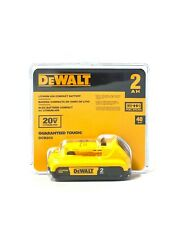 New  Dewalt 20V MAX DCB203 2.0 AH  Compact Lithium-Ion Battery Pack